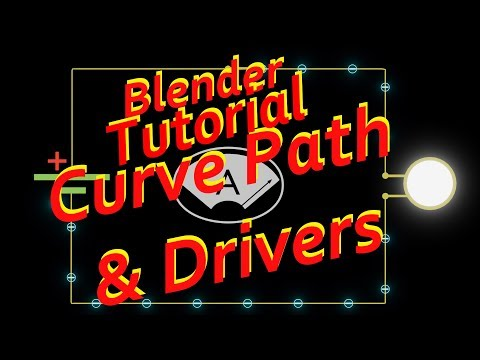 Blender Tutorial - Curve Guide and Drivers