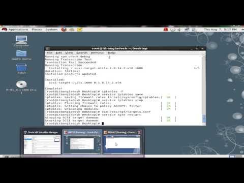 ISCSI  Server and  Linux Client - part 1