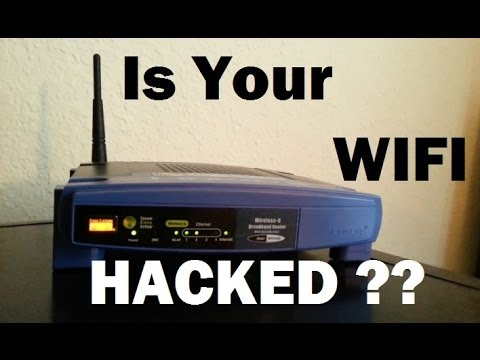 Is Your WiFi Hacked?  (1 of 3)-- SEE Who Is On Your WiFi Network