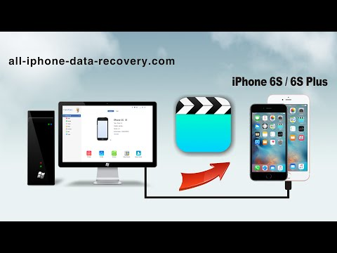 How to Transfer Videos from Computer to iPhone 6S/6S Plus without iTunes