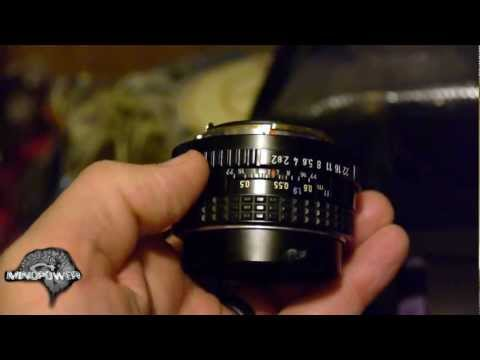 GH2 with Pentax 50mm F2.0 vs Kit Lens - MindPower009