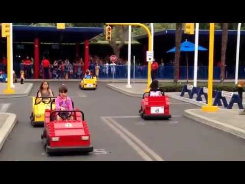 Amelia Qu (7) - 2014 San Diego Trip, Legoland, driving 2