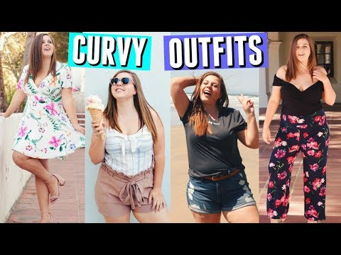 Go To Curvy Girl Outfit Ideas! Spring & Summer Break Lookbook!