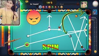 HORRIFYING 8 Ball Pool Spin Confrontation GOES WRONG Multiple Times *angry moments*