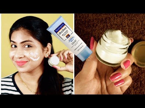 How to make sunscreen at home for all skin types with zinc oxide