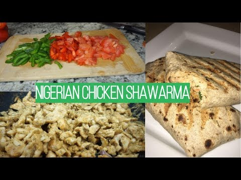 COOK WITH ME | NIGERIAN CHICKEN SHAWARMA