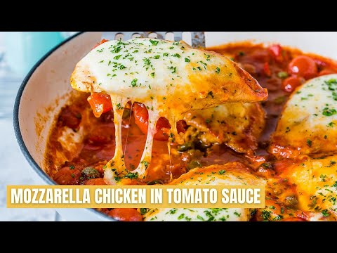 How To Make Mozzarella Chicken In Tomato Sauce Recipe