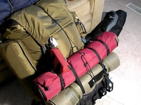 Large Frame Backpacks:  Kelty Super Tioga Part 3