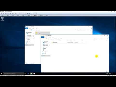 Create a hidden share in File Server running Windows Server 2016