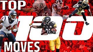 Top 100 Moves (Jukes, Stiff Arms, & Hurdles) of the 2017 Season! | NFL Highlights