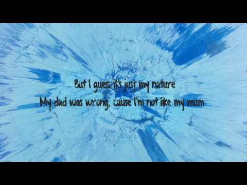 Save Myself - Ed Sheeran Lyrics