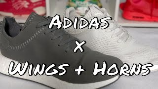lowest price 5839f 28cfe Adidas x Wings + Horns NMD R2 Pack