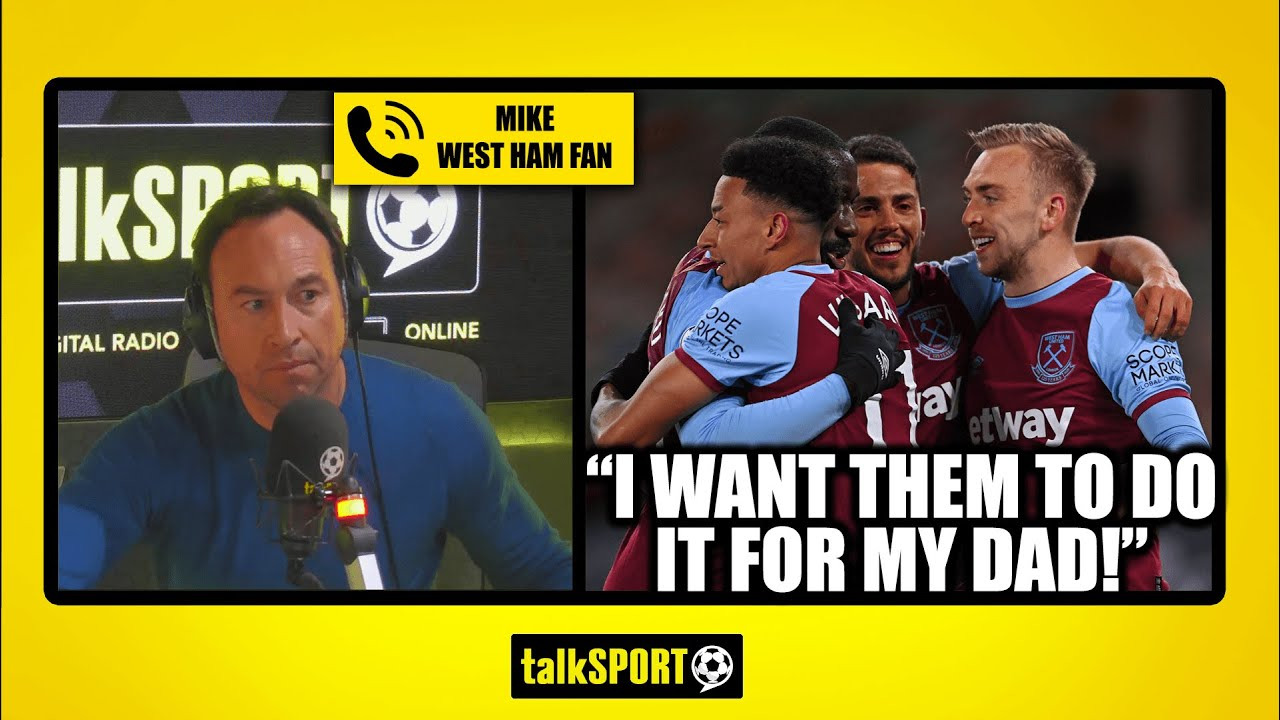 """""""I WANT THEM TO DO IT FOR MY DAD!"""" West ham fan wants European tour in memory of his late father"""