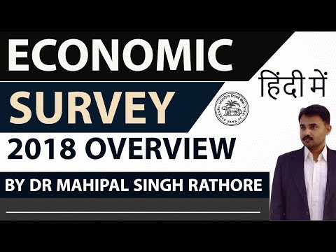 Economic Survey 2018 in HINDI - Current Affairs 2018 - Complete analysis of economic survey 2017-18