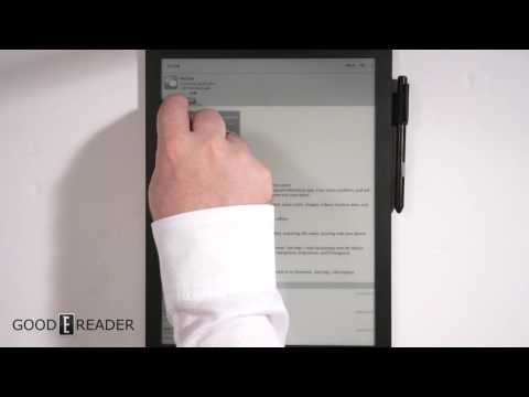 Here is the new UI on the Good e-Reader 13.3