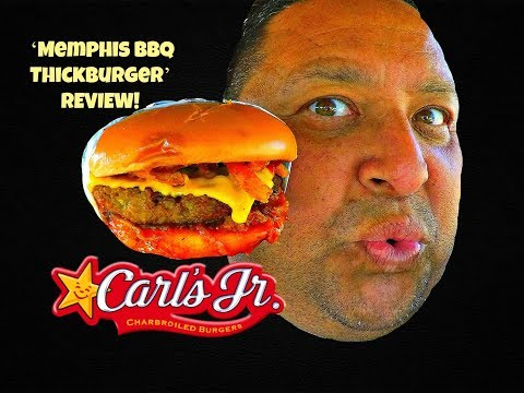 Carl's Jr./ Hardee's 'Memphis BBQ Thickburger' REVIEW!
