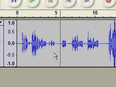 Voice recording to a CD with Audacity and Nero