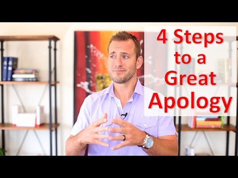 4 Steps to a Great Apology