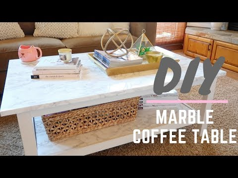 🔨 DIY Marble Coffee Table 🔨