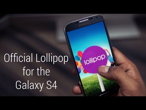 Galaxy S4 - Official Android 5.0 Lollipop Update - Install Instructions [I9505 & I9500]