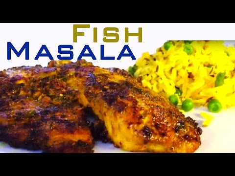Easy Masala Fish Tilapia Healthy Mild and Spicy Version