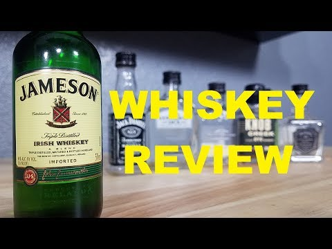 VIDEO 6 BEGINNERS GUIDE TO DRINKING WHISKEY JAMESON BLENDED IRISH WHISKEY REVIEW