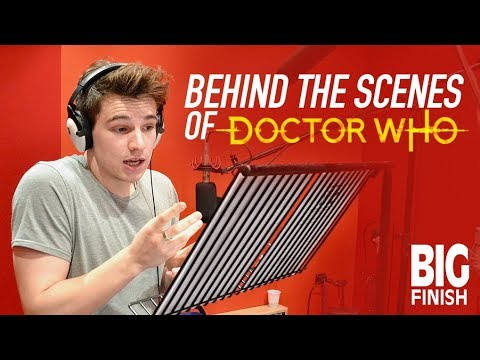BEHIND THE SCENES OF DOCTOR WHO @ BigFinish