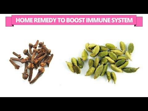 Home remedy to boost and strengthen the immune system