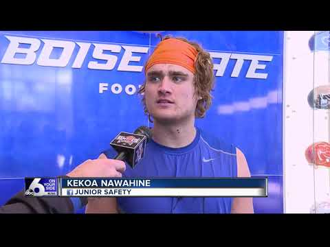 Nawahine emerging as a leader on defense for BSU