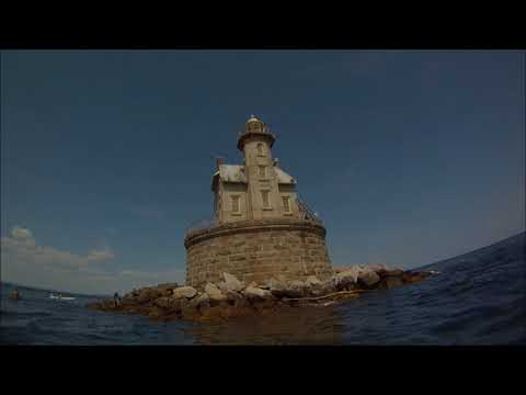 kayaking: Fisher Island circumnavigation
