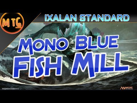 Mono Blue Fish Mill in Ixalan Standard! Budget Deck Tech ($35)!