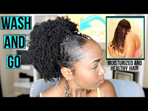 My FIRST Wash and Go Routine! | EXTREME Curl Definition, Moisture and SHINE (Featuring FORM Beauty)