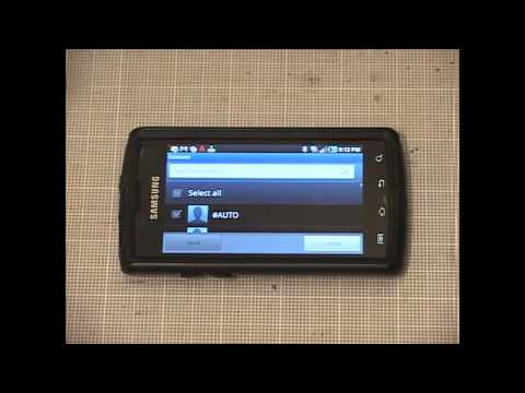 How To Transfer Contacts from Samsung Galaxy S to 2010 or Newer Mercedes-Benz