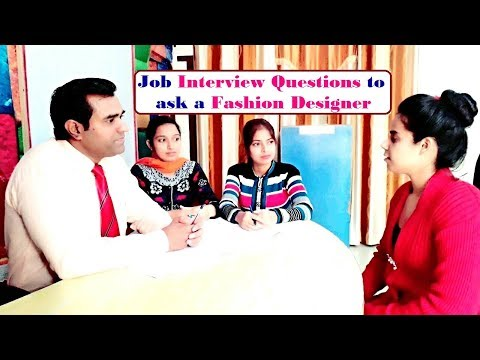 Interview of Fashion Designer - fashion designer course - Interview in English