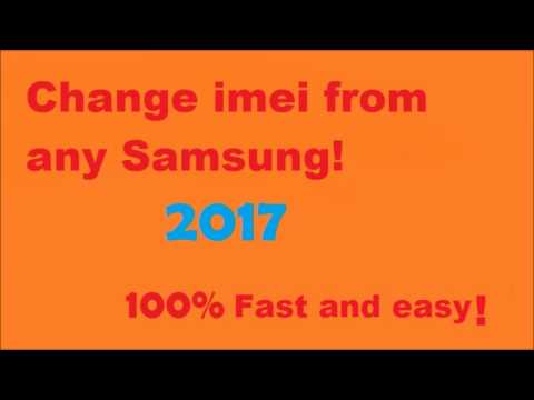 Change Imei Of Any Samsung 2018