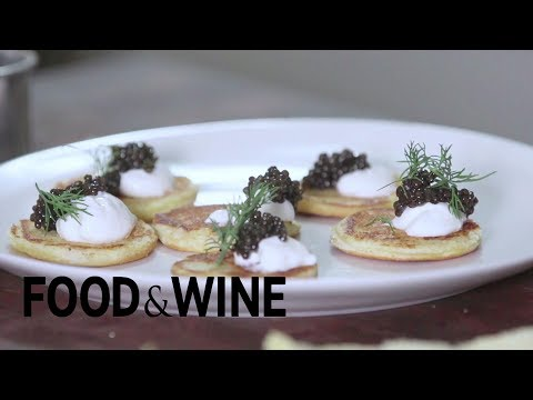 How to Make Faux Potato Blini For Caviar | Mad Genius Tips | Food & Wine