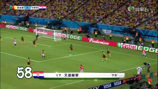 2014 巴西世界盃 1-170入球精華