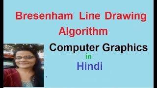Bresenham's Line Drawing Algorithm Derivation Part I in