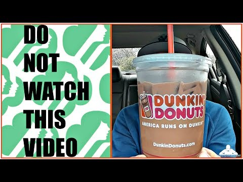 Dunkin' Donuts® | Peanut Butter Cookie MOCHA Iced Coffee Review | Girl Scout Cookie Flavor