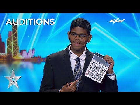 Xxx Mp4 15 Year Old YAASHWIN SARAWANAN Is A HUMAN CALCULATOR Asia 39 S Got Talent 2019 On AXN Asia 3gp Sex