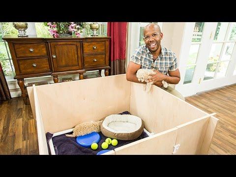 How To - Ken Wignard's DIY Whelping Puppy Box - Hallmark Channel