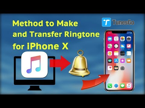 Method to Make and Transfer Ringtone for iPhone X