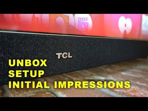 TCL 55C803 & 55C807 - UNBOX & INITIAL IMPRESSIONS