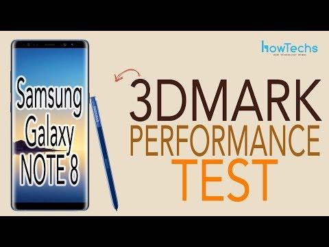 iPhone X vs Samsung Galaxy Note 8 vs iPhone 7+ - 3DMark Benchmark