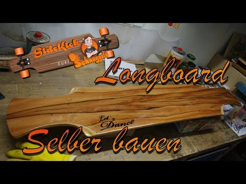 How to build a longboard (Dancer) with vacuum
