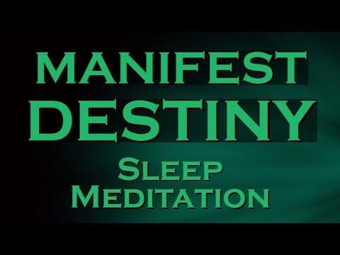 MANIFEST DESTINY while you SLEEP ~ Create Your Destiny