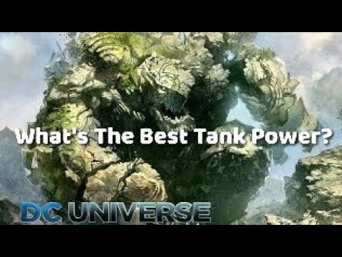 DC Universe Online | So You Want To Be An OP Tank? (2018)
