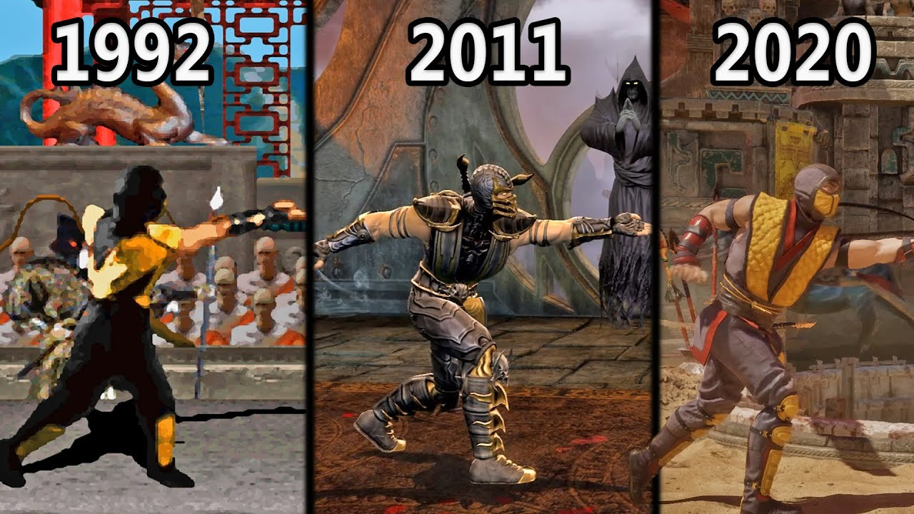 """Evolution of Scorpion's """"Get Over Here"""" (1992-2020)"""