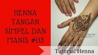 Henna Tangan Simpel Design 01