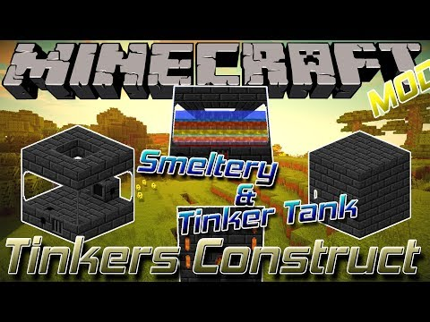 Tinkers Construct || Minecraft 1.12.2 Mod Showcase 21 ||